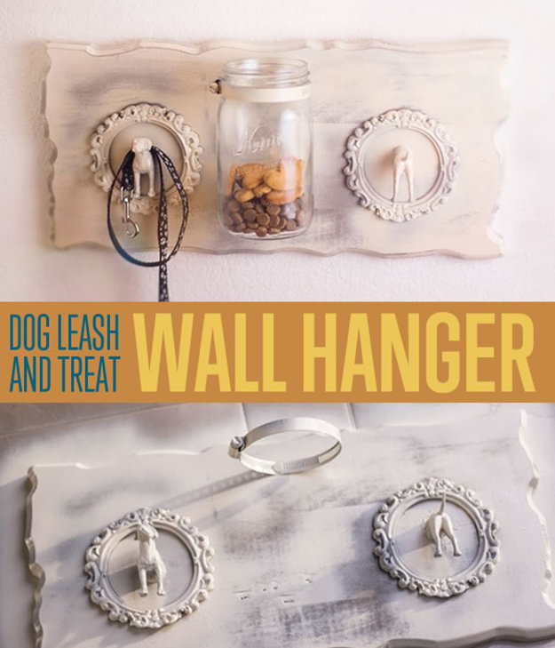 Make A Treat Wall Hanger For Your Dog
