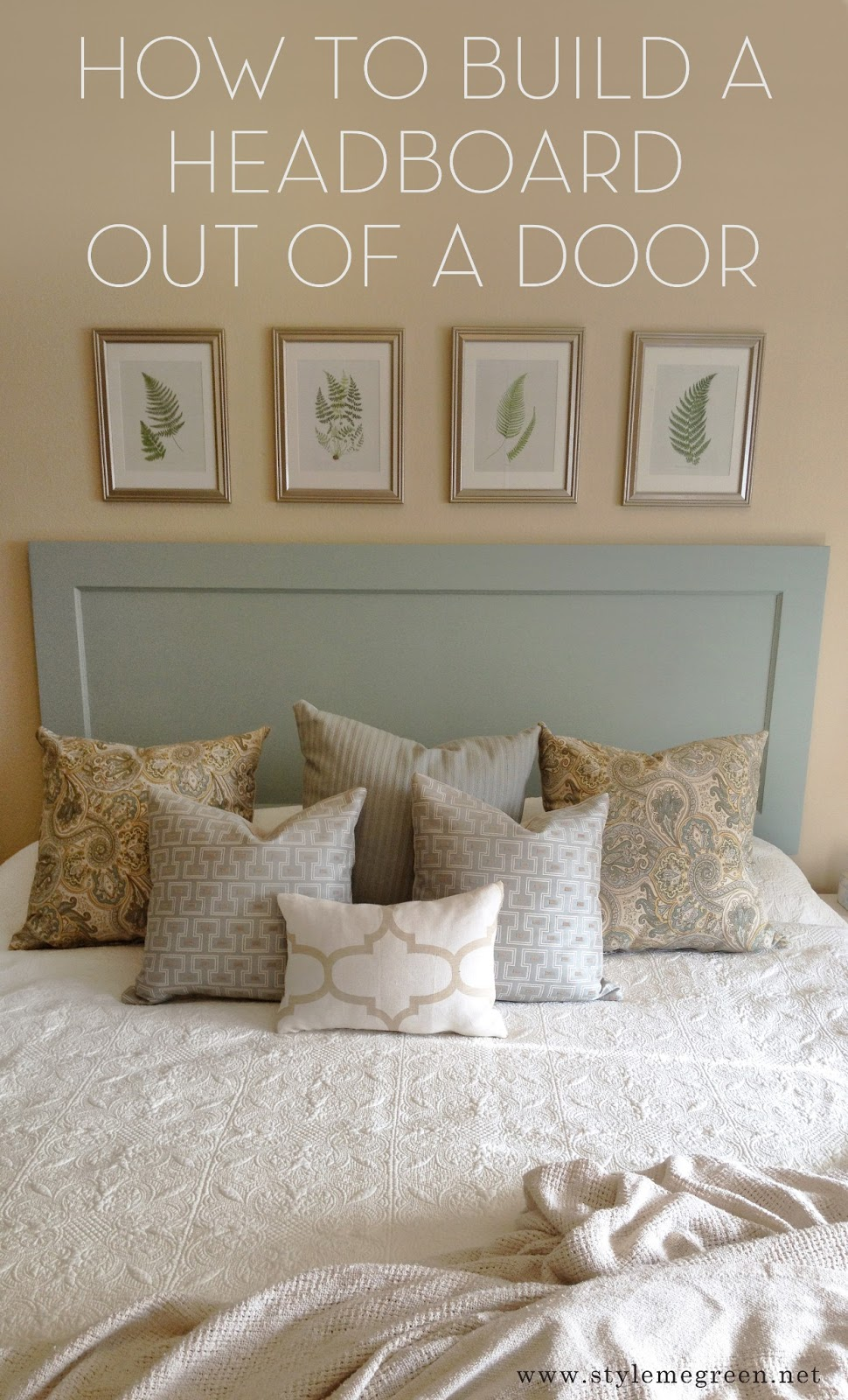 make your own headboard from scratch - Make A Headboard For Your Bed