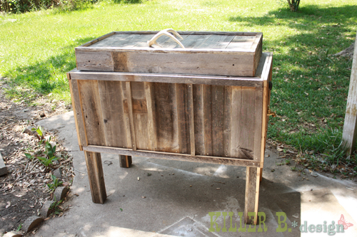 Make Yourself A Cool Rustic Cooler