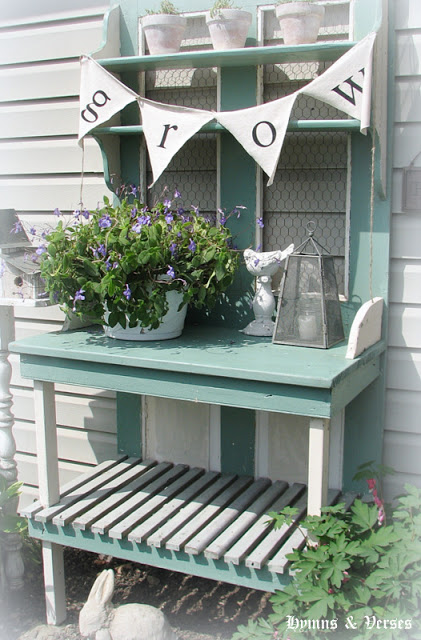 New Potting Bench