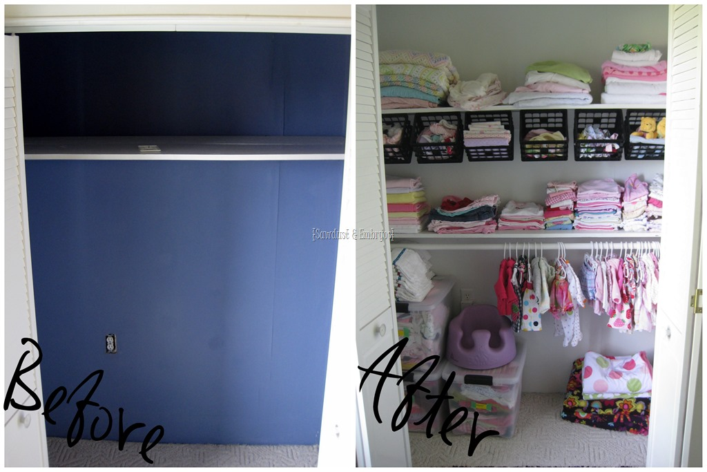 Nursery Closet Update Children