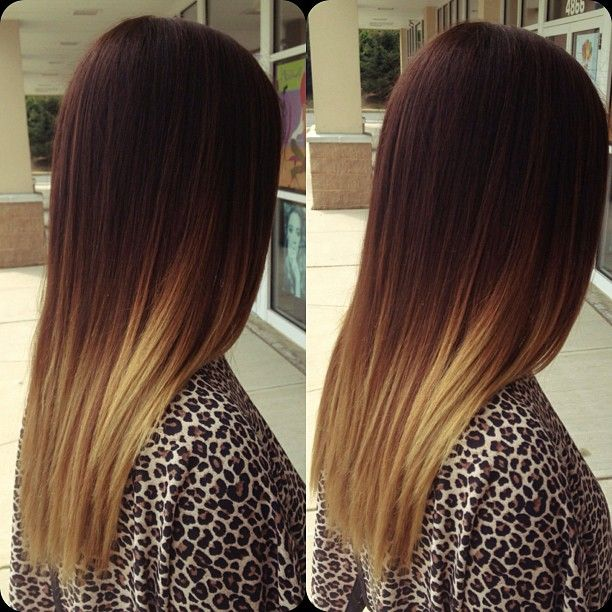 Ombre For Straight Hair