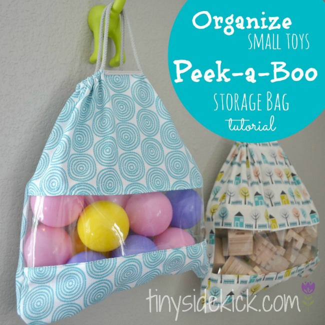 Peek A Boo Toy Storage Idea