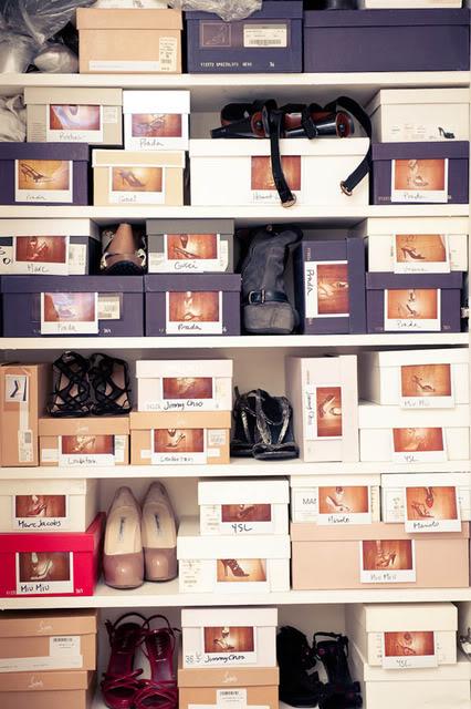 Random Shoe Storage Idea