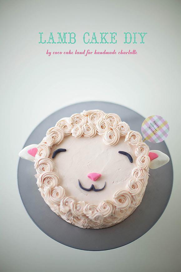 Recipe Lamb Cake