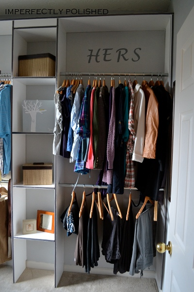 Reveal Your New Closet To Your Friends