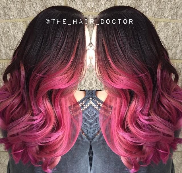 60 awesome diy ombre hair color ideas for 2017 rose ombre hair solutioingenieria Gallery
