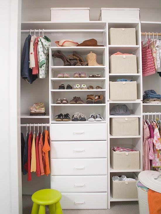 Simple Shoe Storage Idea For Your Kid's Shoes