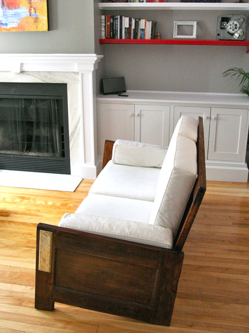 Sofa Made From Old Doors