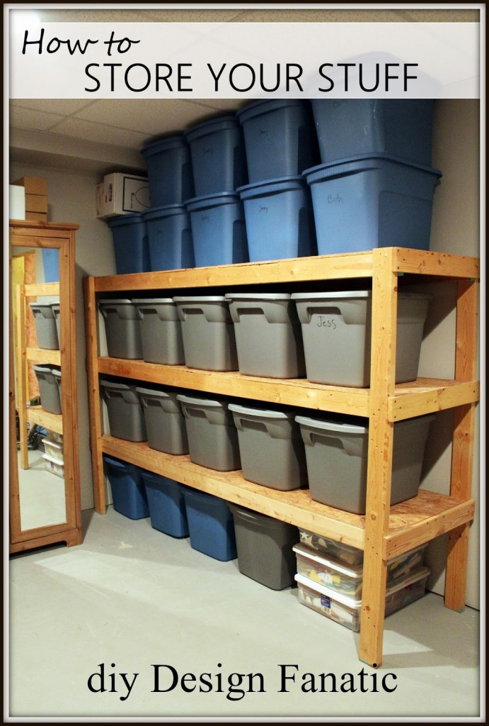 Store Your Stuff In A Practical And Efficient Manner. 35  DIY Garage Storage Ideas To Help You Reinvent Your Garage On A