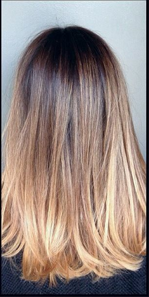 One Of The Many Advantages Of Dyeing Your Hair Ombre Style Is The Fact That This Color Is Extremely Volatile It Can Be Used For Bob Haircuts Long Layered