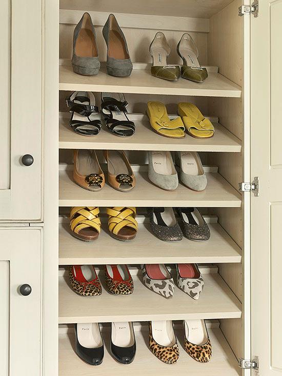 Stylish Shoe Storage For Exquisite Ladies