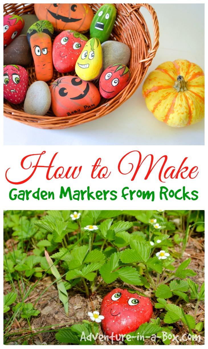 Super Creative Garden Markers