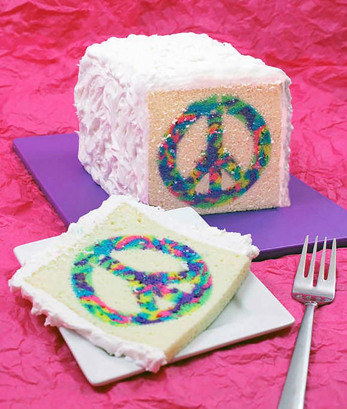 Tie Dye Cake Recipe