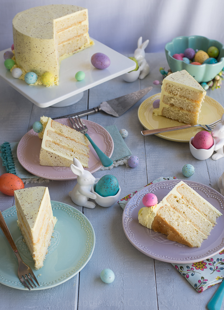 Try A Coconut And Lemon Cake For This Easter