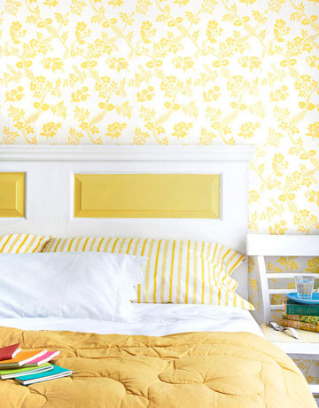Turn Your Door Into A Lovely Headboard