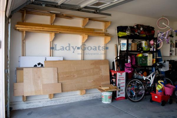 wall garage storage ideas - 35 DIY Garage Storage Ideas To Help You Reinvent Your