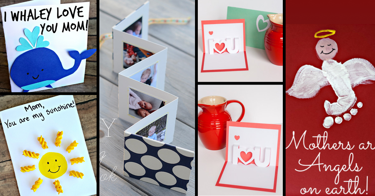 Creative Diy Mother S Day Cards