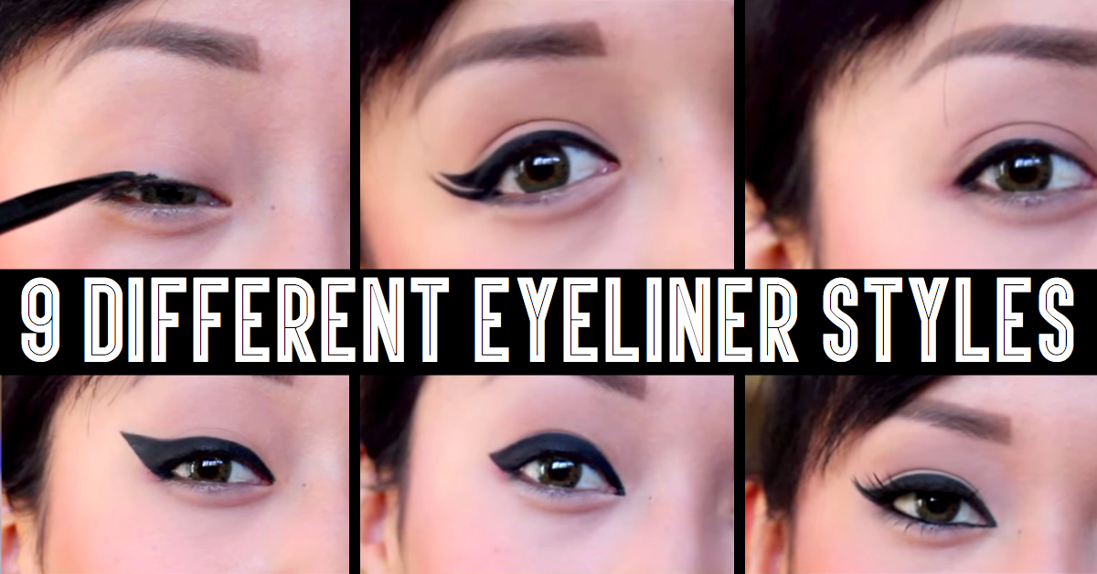 9 Different Eyeliner Styles That Will Give You The Hottest Look Ever!