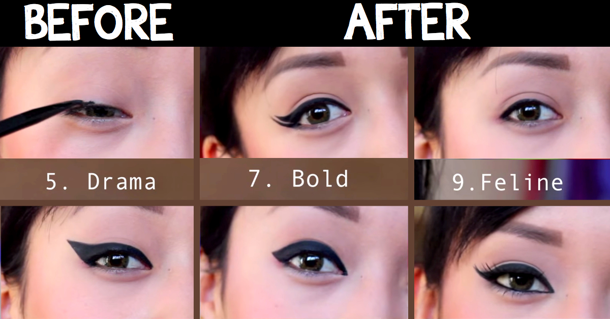 9 Different Eyeliner Styles That Will Give You The Hottest