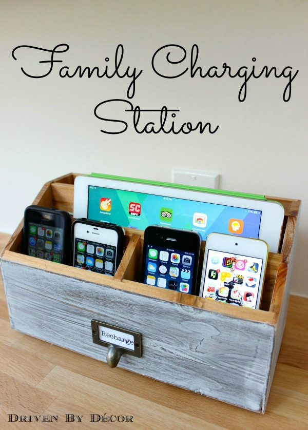 A USB Outlet Charger For The Entire Family