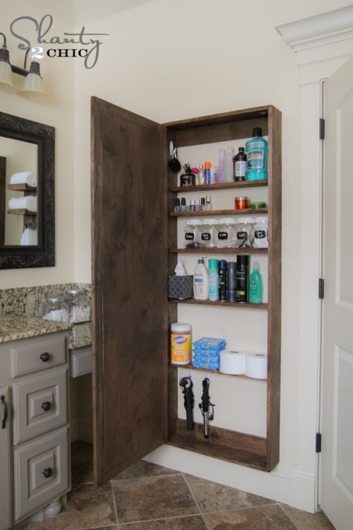 Bathroom Storage DIY