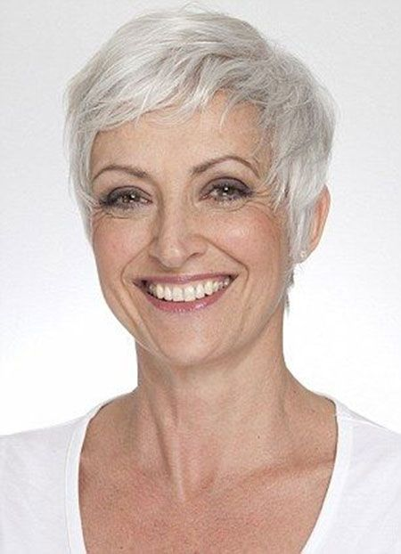 Short Hair Cuts Mature Women 3