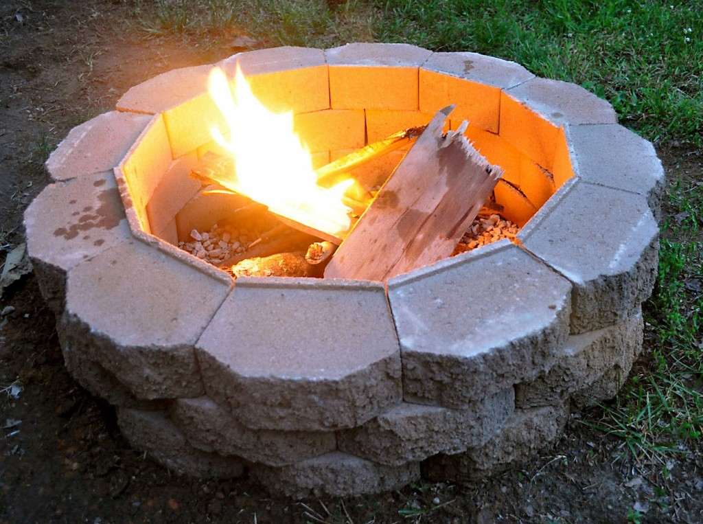 Build Your Own Back Yard Fire Pit From Scratch