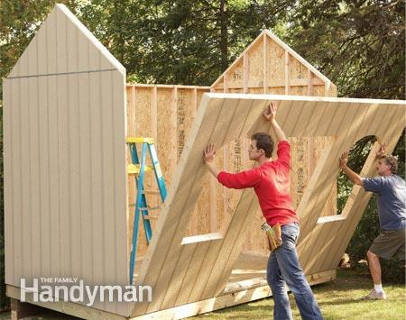 Build Your Own Storage Shed With This Step-By-Step Tutorial