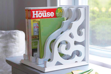 Build Yourself A Magazine Rack