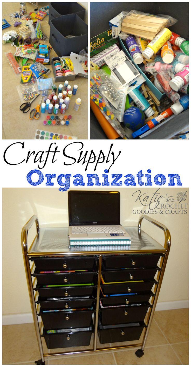 Craft Storage Organization!