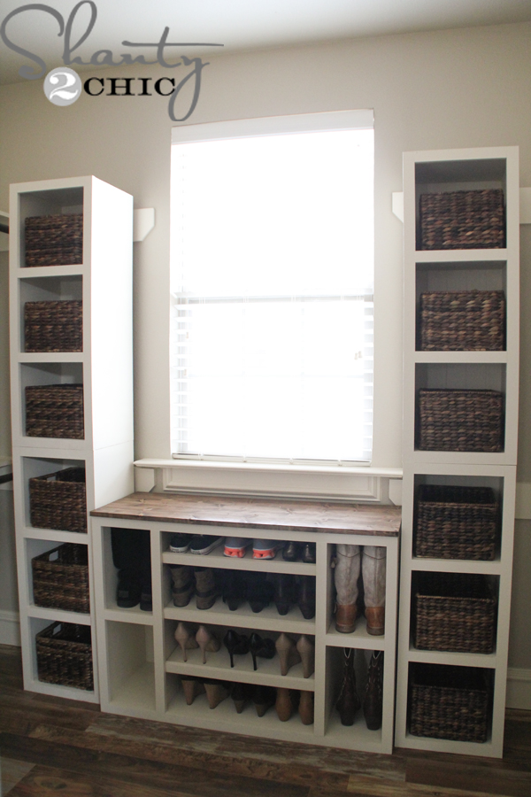 DIY Closet Storage Towers