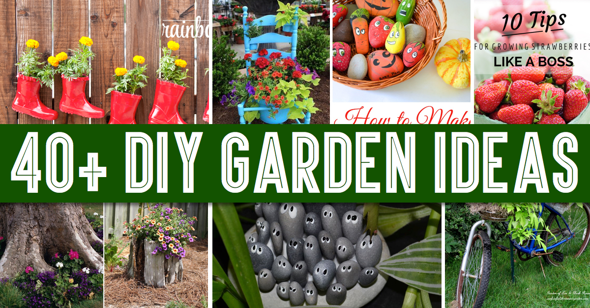Give your backyard a complete makeover with these diy garden ideas cute diy projects - Garden ideas diy ...