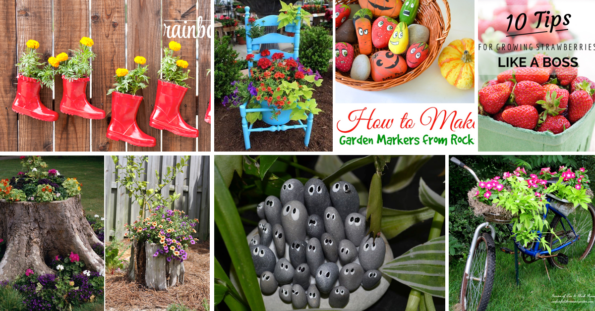 Give your backyard a complete makeover with these diy garden ideas give your backyard a complete makeover with these diy garden ideas cute diy projects workwithnaturefo