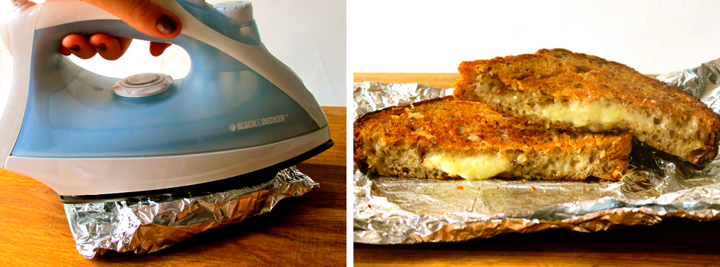 Grilled Cheese - Iron Style