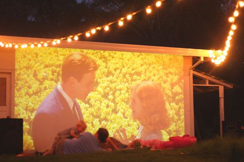 How About An Outdoor Movie Theater