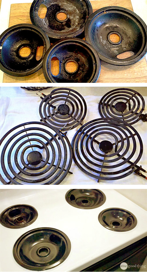 Hydrogen Peroxide And Baking Soda For Super Clean Stove Burners