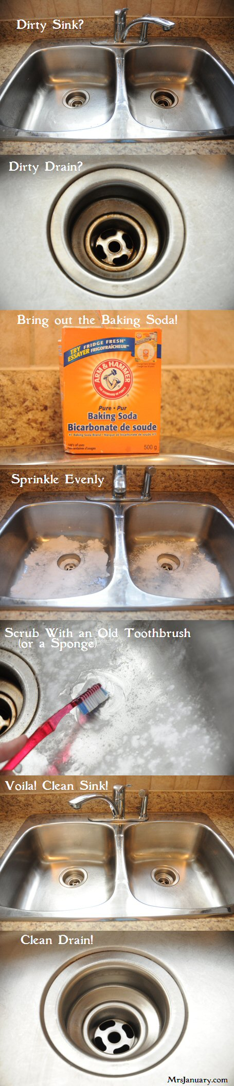 Make Your Stainless Steel Sink Shine