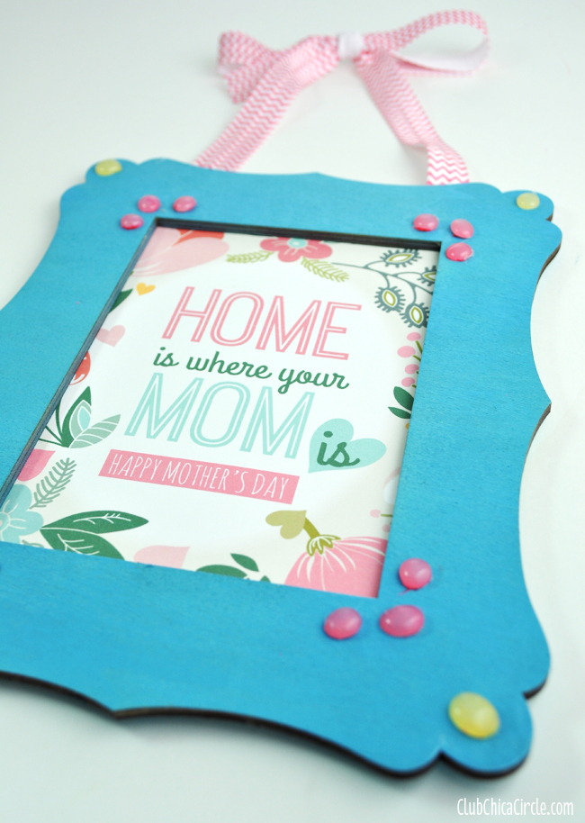 how to make box card for mothers day
