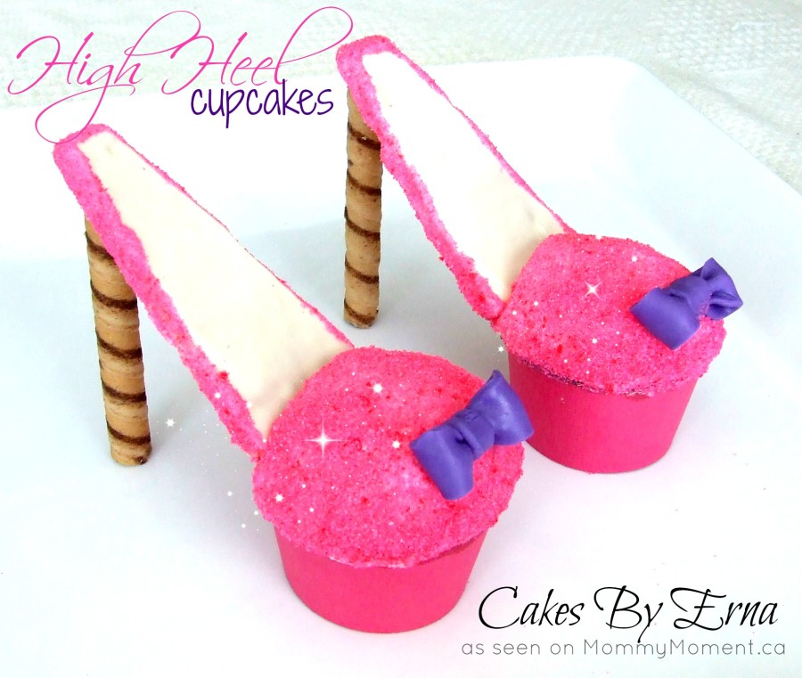 Princess Stiletto Cupcakes