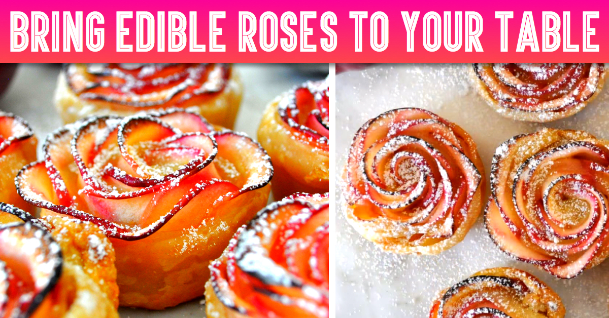 See How You Can Bring Edible Roses To Your Table - Healthy And Tasty!