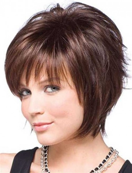 Short Asymmetric Hairstyle For Round Faces Cute Diy Projects