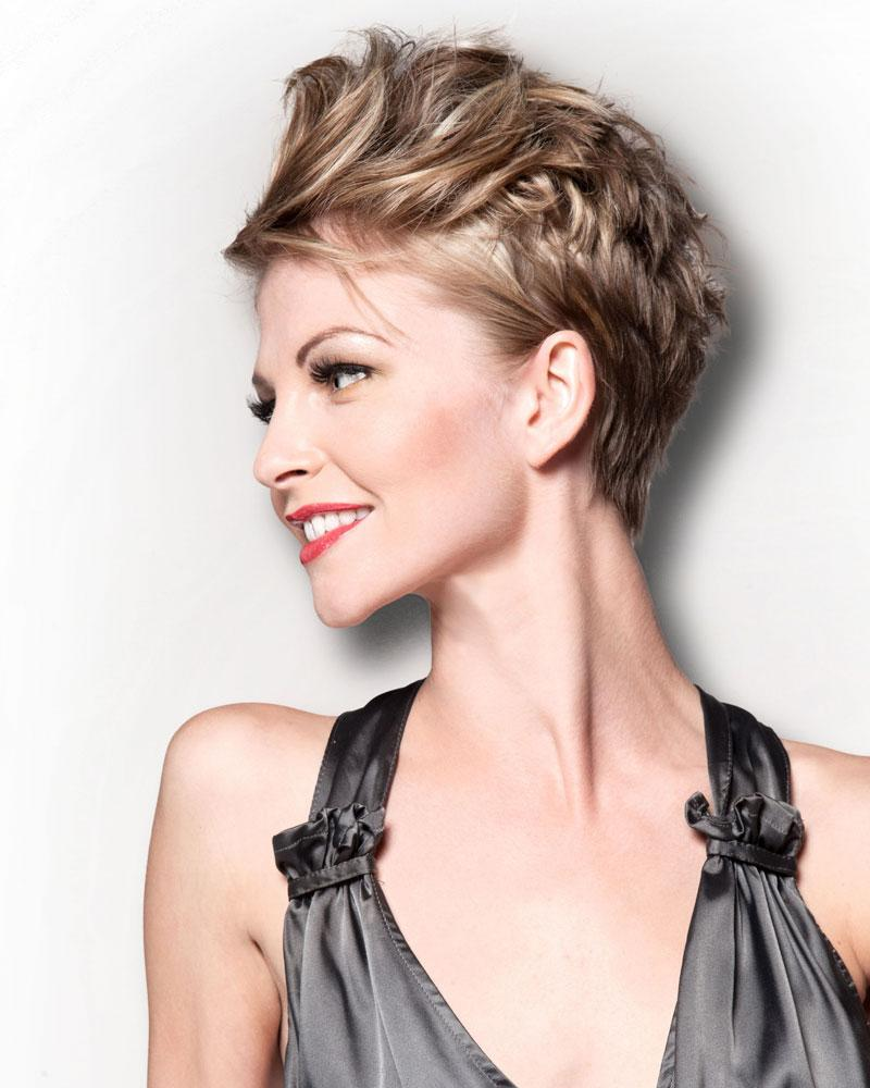 Short hairstyles trendy short hairstyles for women - Short Pixie Cut For Fashionable Older Ladies