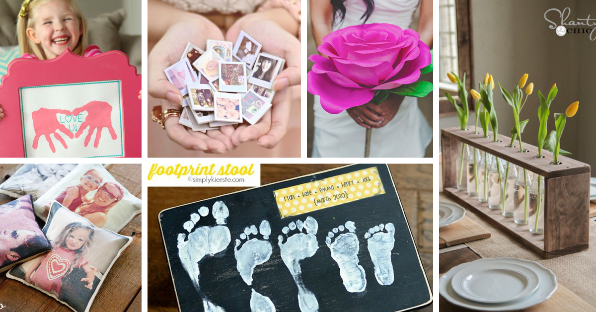 Show Your Mom How Special She Is With These 50 Diy Mother S Day Gifts On A Budget Cute Diy Projects