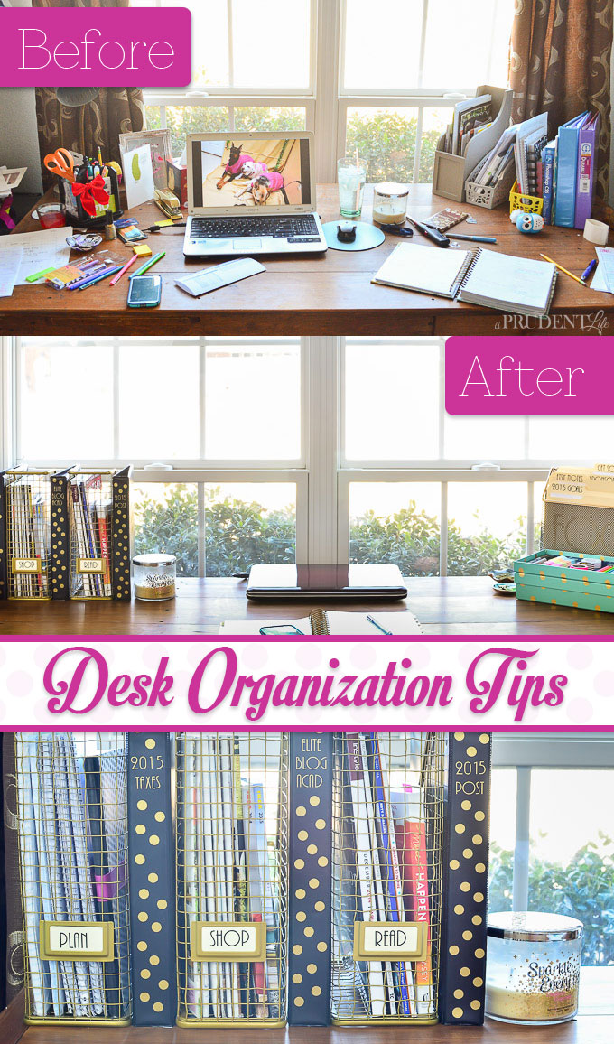 25 practical office organization ideas and tips for the - Organized office desk ...