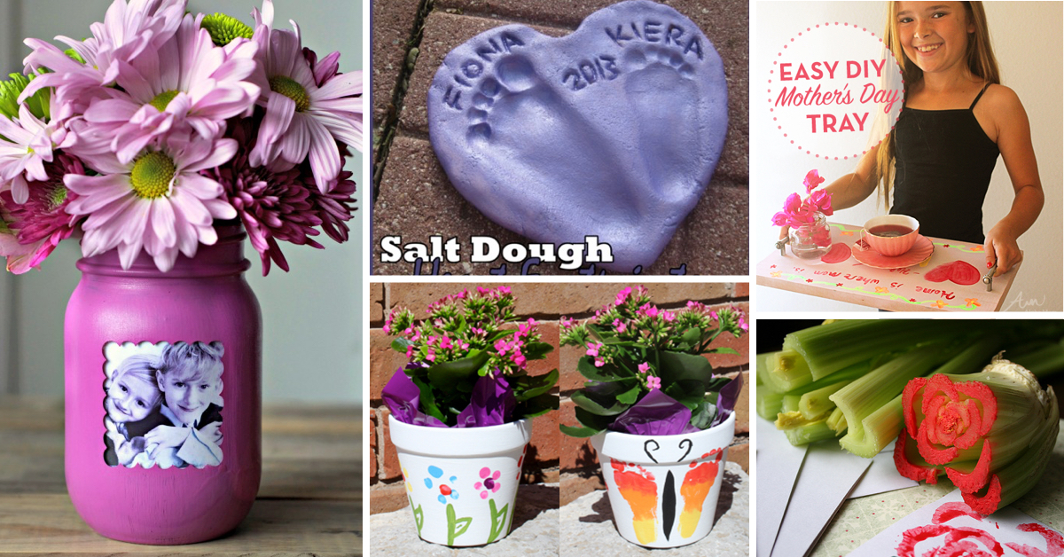 cheap mother's day crafts that speak for themselves  cute, Natural flower