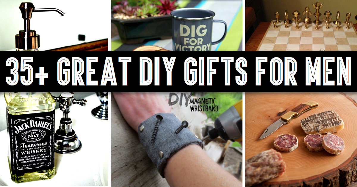 35 Great Diy Gifts For Men Who Love To Be Surprised Cute