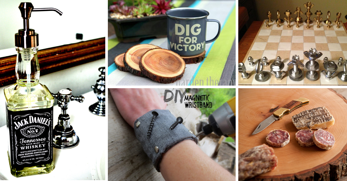 35 Great DIY Gifts For Men Who Love To Be Surprised Cute Projects