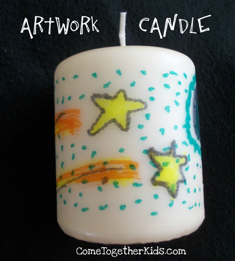 Artsy Candles
