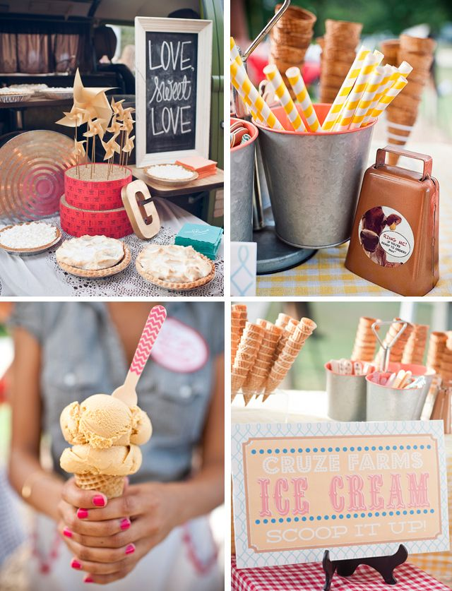 Awesome Rustic Ice Cream Stand